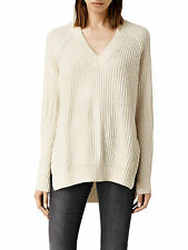 NWT All Saints AllSaints Riva Wool/Alpaca Jumper Sweater Chalk Size S M MRSP$230
