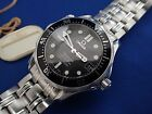 Omega Seamaster co-axial watch mid size auto sapphire 300m sapphire