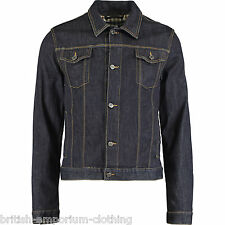 AQUASCUTUM Dark Blue Denim Jacket BNWT IT48 UK38