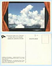 America Airlines - Room with a View -  Aircraft Inflight Advertising Postcard