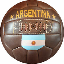 Argentina - Vintage Leather Soccer Ball 1966 -- 100% leather
