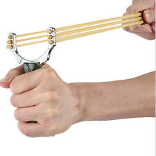 Powerful Slingshot Catapult Sling Shot Metal Handle Outdoor Hunting Game Toy Hot