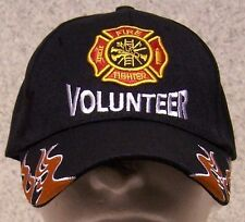 Embroidered Baseball Cap Volunteer Fire Fighter NEW 1 hat size fits all
