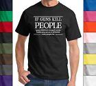 If Guns Kill Ppl Pencils Misspell Words Funny T Shirt Gun Rights Political Tee