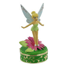 Disney Classic Trinket Box - Standing Tinkerbell new in Gift box   22164