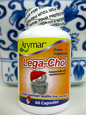 Lega-Chol 60 capsules  Help Maintain Healthy Liver Functions compare to Legalon