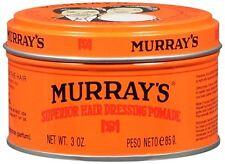 Murrays Hair Dressing Pomade 3 oz (Pack of 3)