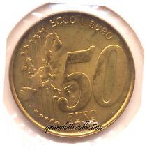MEDAGLIA ECCO L'EURO 50 EURO CENT COMUNE DI SASSELLO EMISSIONE PRIVATA 2000