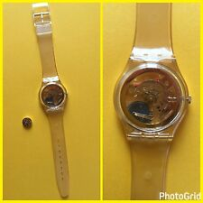 "Swatch  Special ""Golden Jelly"" collector n.1 del 1990 mai indossato. Pila oro!"