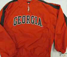 Majestic Men's Large Georgia Bulldogs Lightweight Pullover Jacket