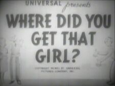 WHERE DID YOU GET THAT GIRL 1941 (DVD) LEON ERROL