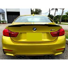 BMW F82/M4 High Kick Performance Style Carbon Fiber Trunk Spoiler