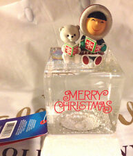 NEW~Frosty Friends Snow/Water Globe~Resin and Glass~Series#1 Model~Hallmark 2016