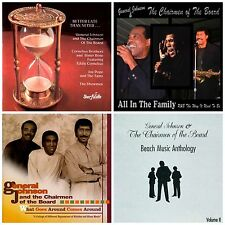 Lot of 4 new GENERAL JOHNSON & CHAIRMEN OF THE BOARD CD's Beach Music Anthology+