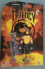 "Mortal Kombat Trilogy Scorpion 1996 Vintage MOC MKII 5"" Fighter Toy Island RARE!"