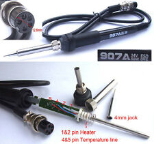 5-Pin 50W 24V Soldering iron handle for 936 Soldering station 907A 852D 4mm tip