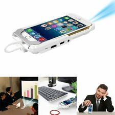 Mini DLP Mobile Cinema Home Theater LED Projector For iPhone 6 6S 5S Dual HDMI
