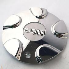 "Platinum Wheel Center Hub Cap Chrome 89-9128 6.25"" Diameter PLA38"