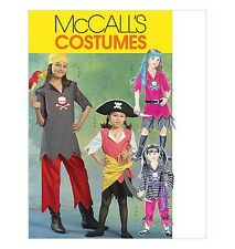 Sew & Make McCall's M5495 SEWING PATTERN - Childs PIRATE HALLOWEEN COSTUMES 7-14