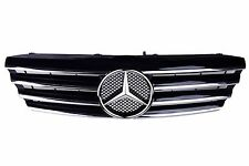 '00-'06 for Mercedes Benz W203 C Class CL Sport Grille Black with Chrome Molding
