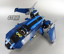 LEGO SUPER HEROES MARVEL BLACKBIRD JET FIGHTER  Ref 76022  ``NO MINIFIGURAS´´