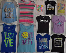 Justice Girls Mixed Lot of 11 Tops Tanks Shirts Spring Summer Size 12 js