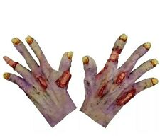 Zombie Undead Hands Costume Gloves