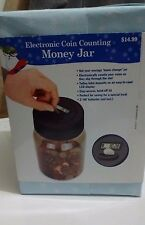 Unopened Electronic Coin Counting Money Jar, LCD Display
