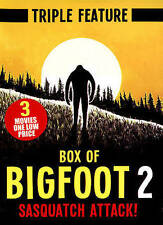 Various-Box Of Bigfoot 2: Sasquatch Attack (Triple Feature) DVD NEW