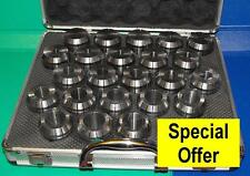 R8 ER40 collet chuck with 23 piece collet set suit Bridgeport mill or similar