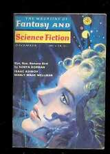 The Magazine of Fantasy and SF 12.1969 Asimov Manly Wade Wellman Malzberg