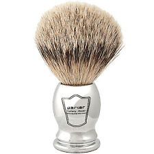 Chrome Handle Silvertip Badger Shaving Brush