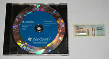 Microsoft Windows 7 Professional SP1 64bit Full Version DVD with Product Key COA