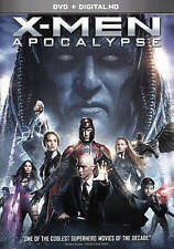 X-Men: Apocalypse (DVD, 2016) DVD IN A BLUE RAY SLIPCASE FREE SHIPPING