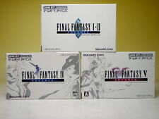 Used GAMEBOY ADVANCE FINAL FANTASY 3games SET 1・2 4 5 Ⅰ・Ⅱ Ⅳ Ⅴ GBA from Japan/874
