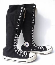 CONVERSE ALL STAR WOMEN'S KNEE HIGH LACE UP SNEAKERS SZ 4 EXCELLENT- CONDITION