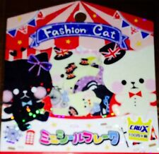 Kawaii CruX Fashion Cat Sticker Flakes Sack 42 Stickers