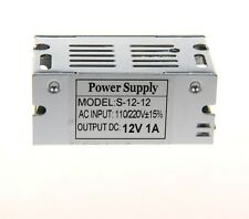 AC110~220V TO DC 12V 1A 12W Switch Power Supply Driver adapter For LED Strip
