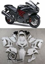 ABS Plastic Fairing Kit For Kawasaki ZX14R Ninja Black Red 2012 2013 2014 xuexia