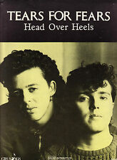 TEARS FOR FEARS-Head Over Heels-1980's Australian issue Sheet Music