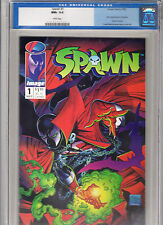 Spawn #1 (May 1992, Image) CGC NM+ 9.6