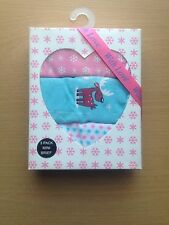 Primark Aqua Brief Set Pack Of 3 Mini Breifs Thongs Knickers Underwear Box Set