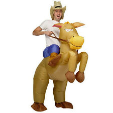 Inflatable Horse Riding Adult Fancy Dress Costume Stag Hen Night Party Prop