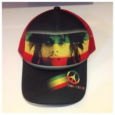 New Bob Marley Rasta Reggae Cap, Hats, Black And Red Colour