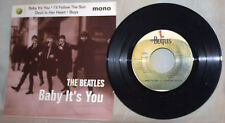 """THE BEATLES 45 RPM 7"""" APPLE RECORDS EP-4 SONGS ON MONO-""""BABY IT'S YOU"""""""