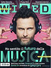 Wired.Jovanotti & Daniel Ek,Michael Mann,Patrick Kane,Tinto Brass,iii