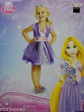 Halloween Disney Rapunzel Purple & White Dress Costume & Tiara Size 2T NWT