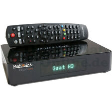 ► medi@link Ixuss One HDTV Linux PVR Receiver Media Player ENIGMA NUOVO Medialink