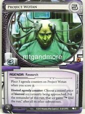 Android Netrunner LCG - 1x Project Wotan  #006 - System Crash Draft Starter