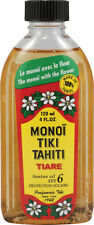 Coconut Suntan Oil, Monoi, 4 oz Natural